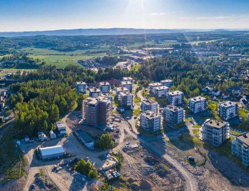 Vestby panorama fra Sole skog