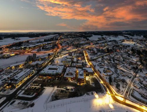 Kvelden over Vestby