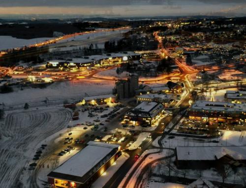 Timelaps Vestby sentrum -starten på 2021