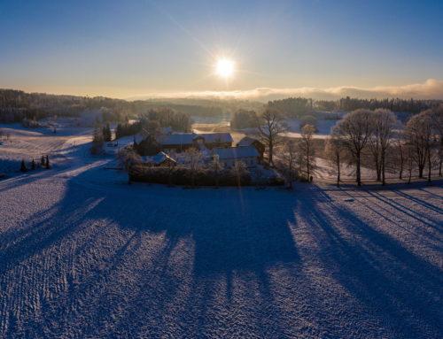 Hvitstenveien panorama, Knalstad gård
