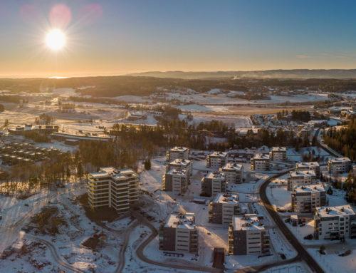 Vestby panorama med Sole skog