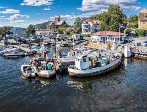 Sommer i Drøbak